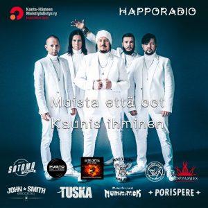 Happoradio - Musiikki kamppis juliste