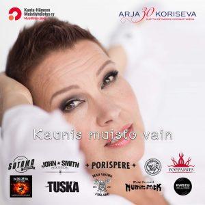 Arja Koriseva - Musiikki kamppis juliste
